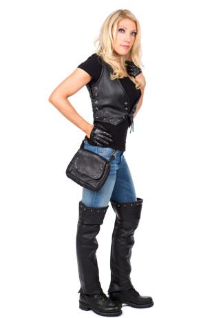 Studded! Leather Vest