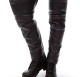 Thigh High Leather Half Chaps