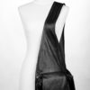 Leather Vest Bag - over shoulder