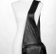 Leather Vest Bag - over shoulder