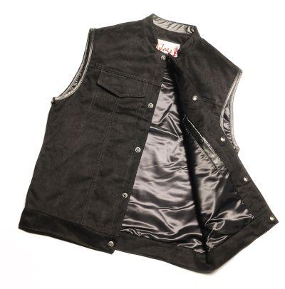 Black Magic Vest Lissa Hill Leather