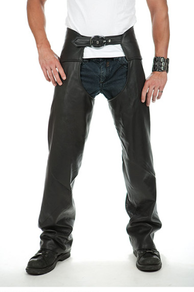 Leather Full Chaps for Men by Lissa Hill