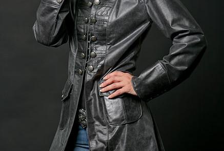 Leather Full Jacket
