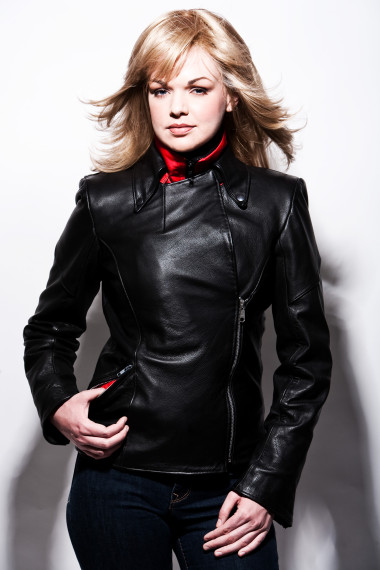Lissa Hill Leather Jacket Style 8848
