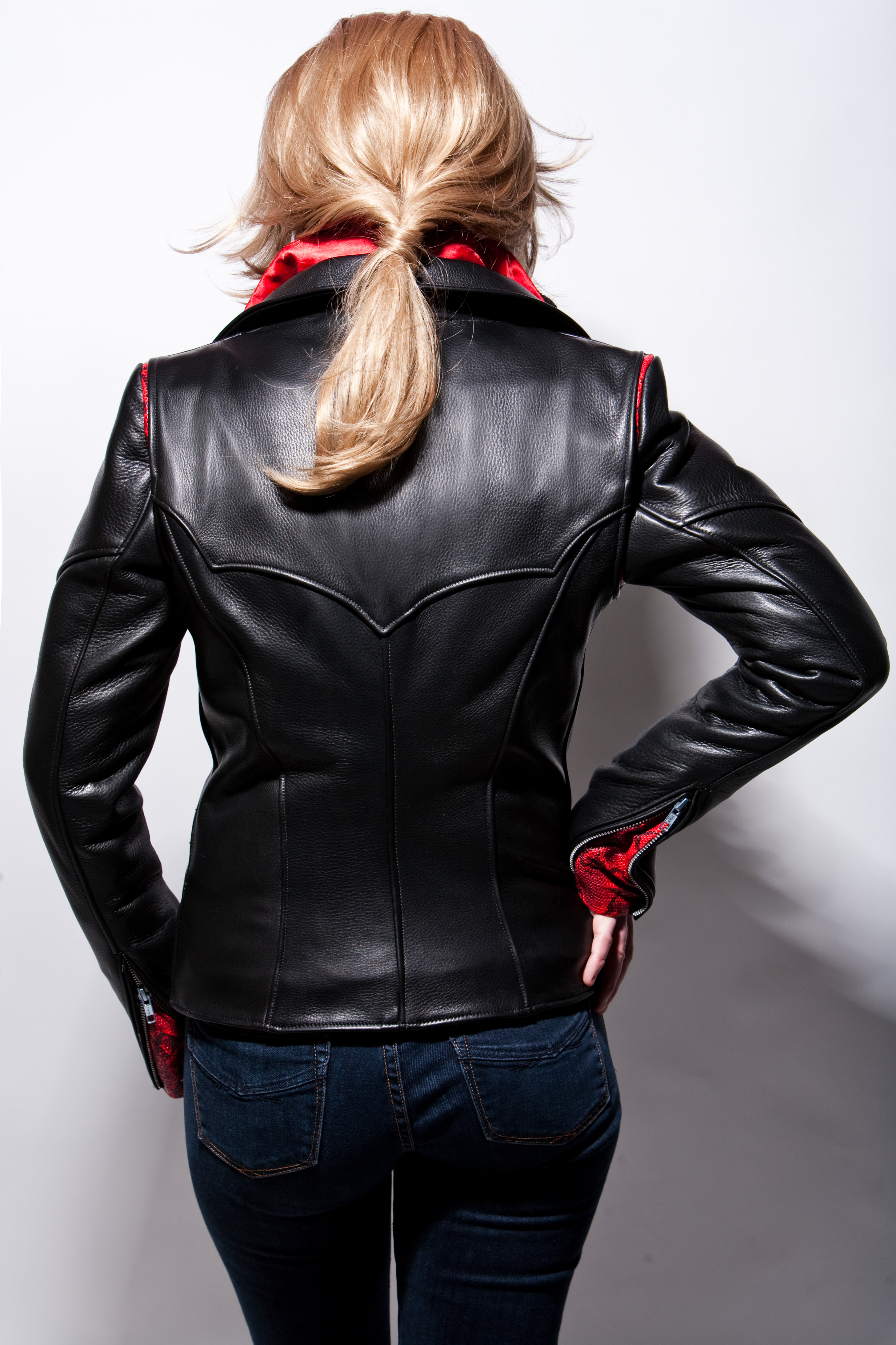 Womens Leather Jacket Style 8800 Lissa Hill