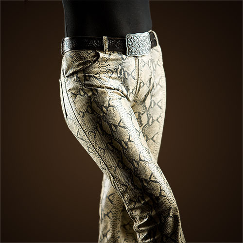 Snakeskin Jeans by Lissa Hill