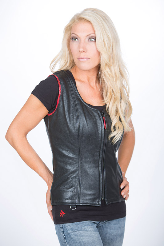 Leather Vests by Lissa Hill