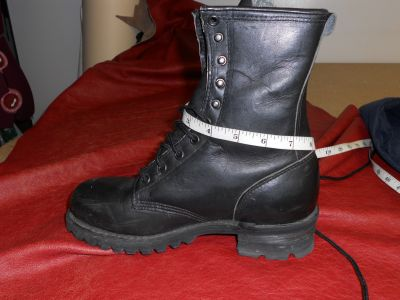 measuring boot