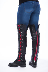 distressed_laced_half_chaps_red1